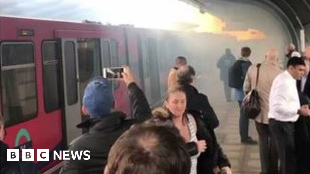 Pontoon Dock DLR: Two in hospital after explosion