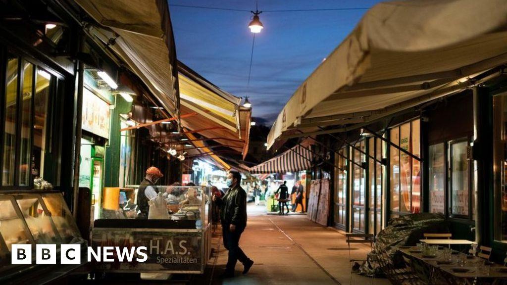 Coronavirus: Austria locks down as new wave grips Europe