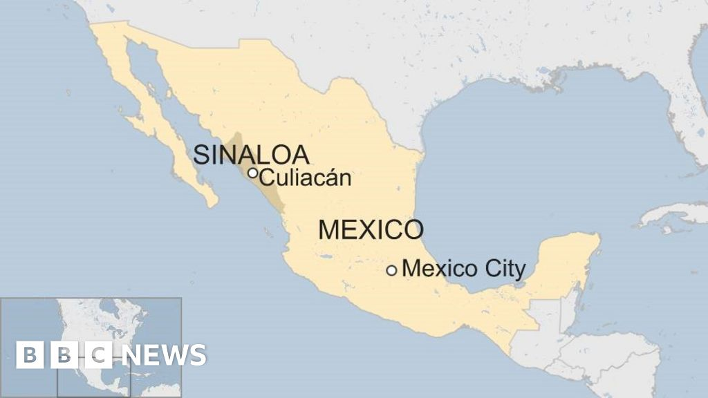 Culiacan Sinaloa Mexico Map.Mexican Prisoners Flee Sinaloa Jail Disguised As Guards Bbc News