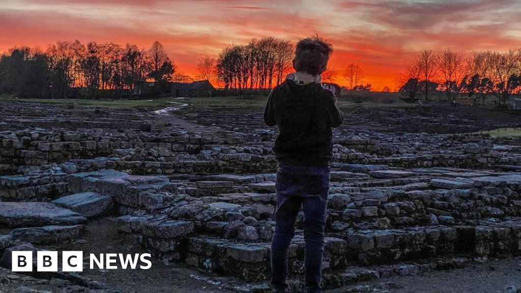 Vindolanda Fort and Roman site family lockdown-home