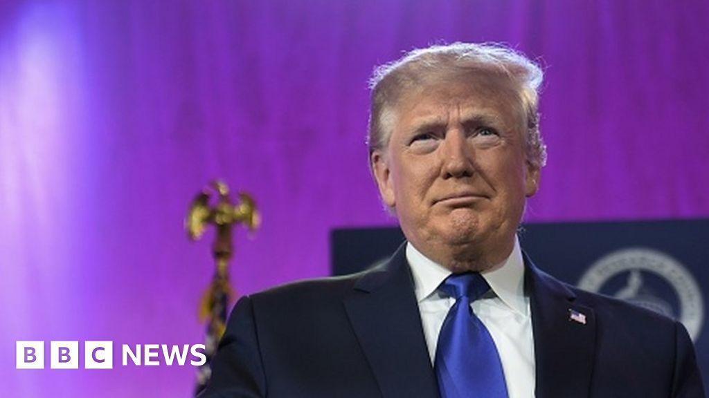 Trump 2020 campaign disavows parody media massacre video