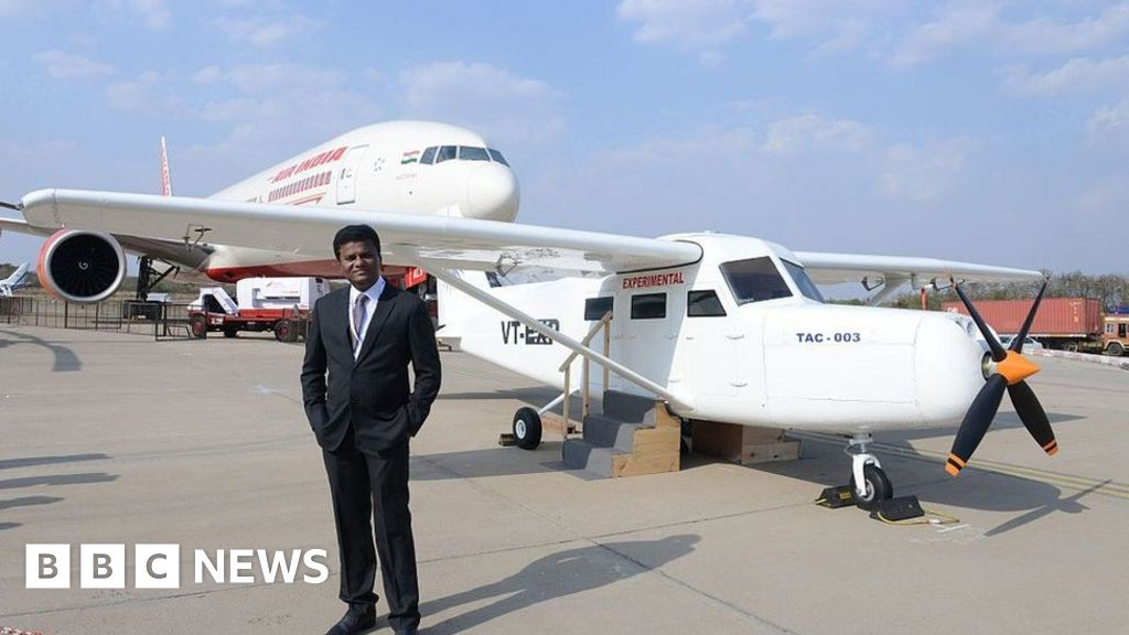 The Man Who Built An Aeroplane On His Mumbai Rooftop Bbc