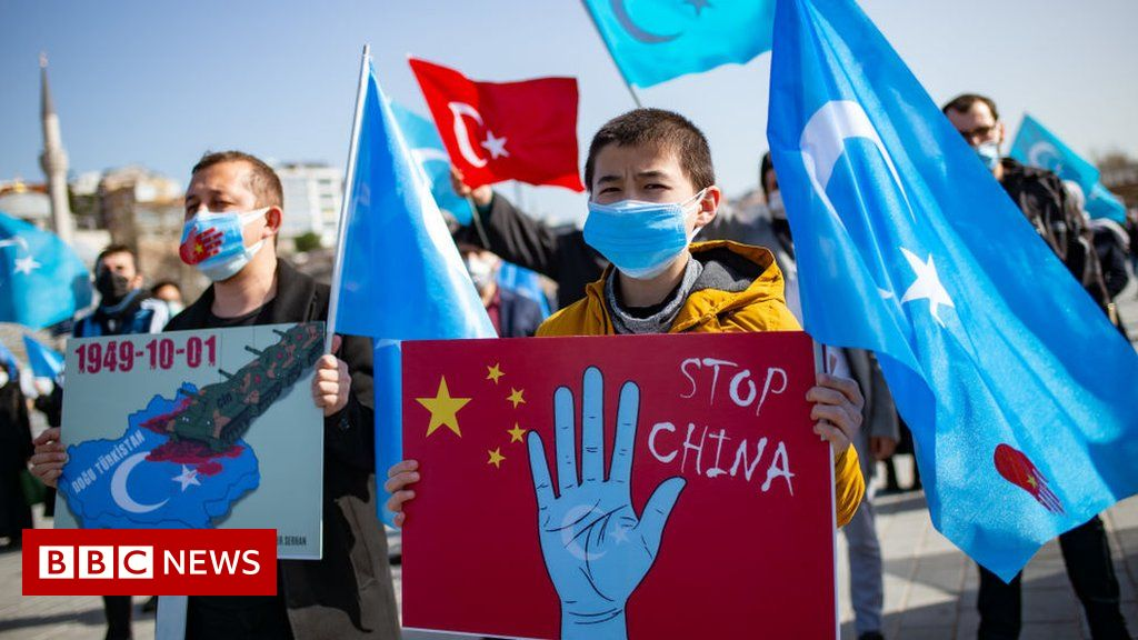 """China creates """"dystopian landscape of hell"""" in Xinjiang, Amnesty report says"""