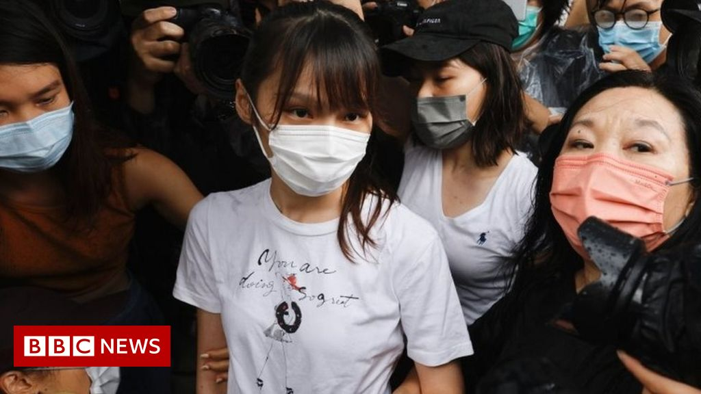 Hong Kong activist Agnes Chow released from prison