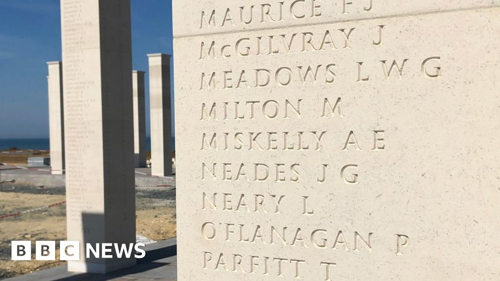 D-Day anniversary: New pictures in the Normandy-released memorial
