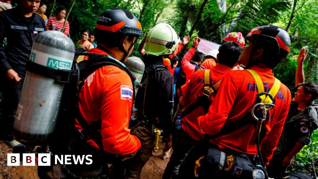 Thai teenage football team trapped in cave may be still alive