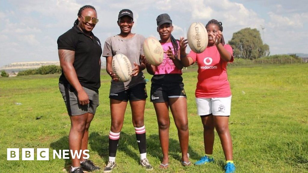 South African rugby: Meet the female players changing the game - BBC News