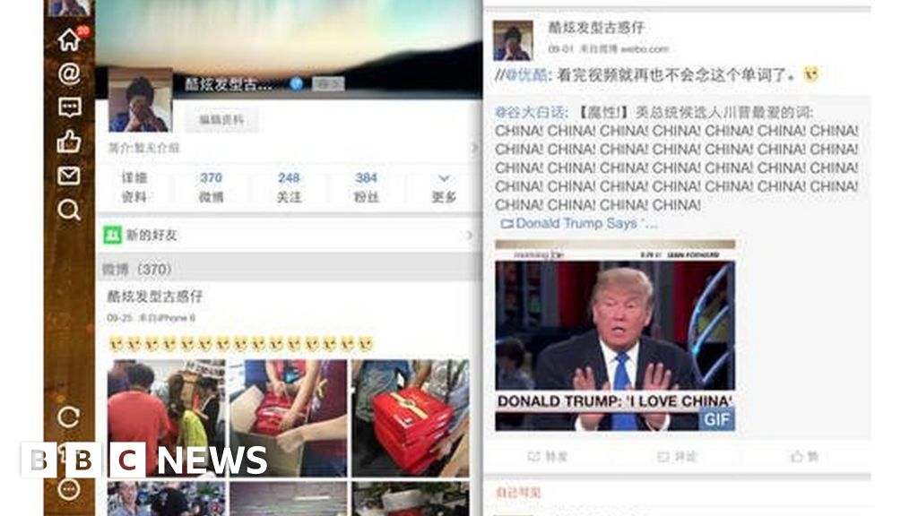 b401e9263c Sina Weibo ends 140-character limit ahead of Twitter - BBC News