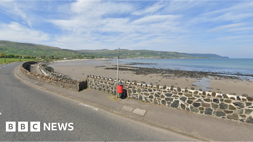 Carnlough: Emergency services attend after swimmer gets into difficulty