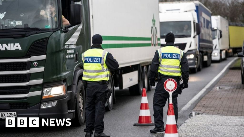 Coronavirus: Denmark opens borders to divided lovers - BBC News