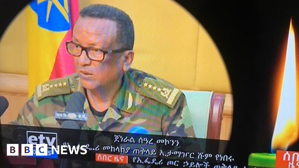 Ethiopia mourns top general killed 'in Amhara coup attempt'