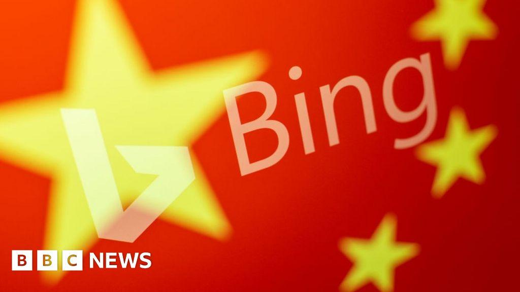 Microsoft's Bing search engine restored in China - BBC News