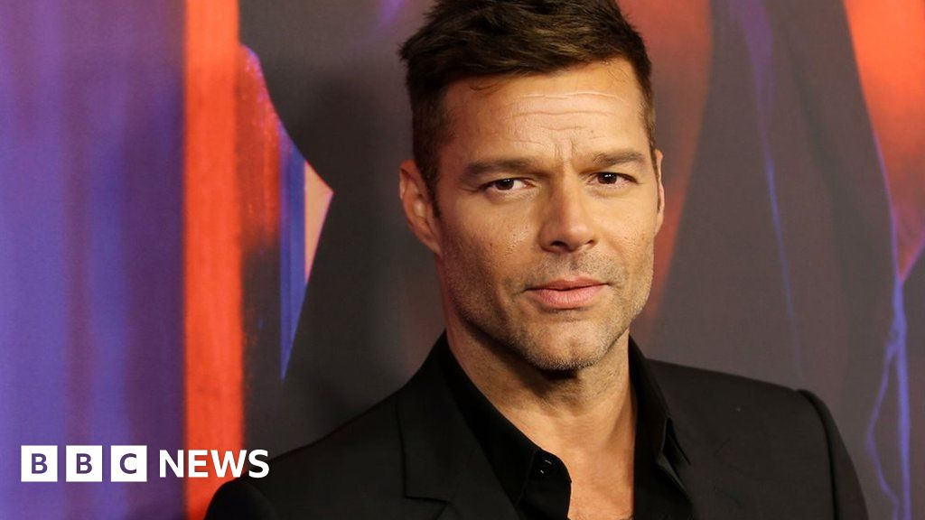 Ricky Martin says he forced partners 'back into the closet' - BBC News