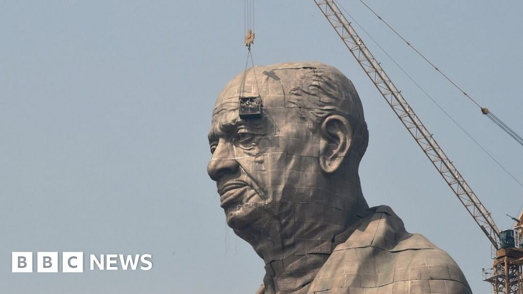 4dc56568d Indian farmers fume at $430m cost of Gujarat statue - BBC News