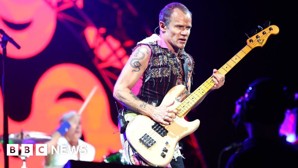 Why Flea's memoir ends as the Red Hot Chili Peppers begin