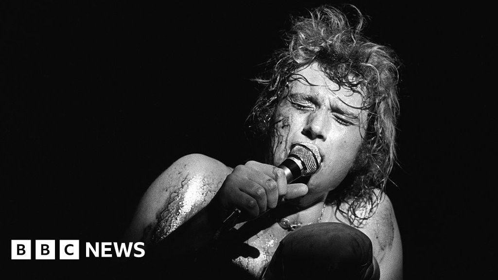 Johnny Hallyday: The story of a French rock phenomenon - BBC News