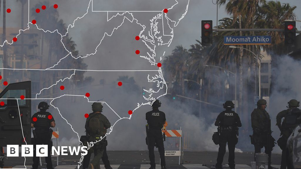 How teargas grew to become the go-to weapon for US police thumbnail