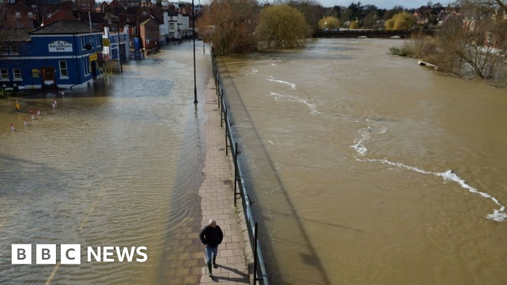 Rescues continue as river flood levels rise