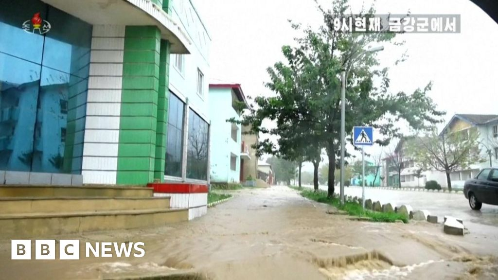 North Korea to punish officials over typhoon thumbnail