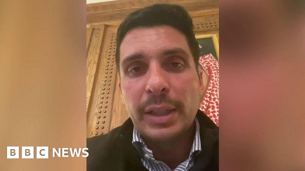 "Jordanian Prince Hamzah promises to disobey ""house arrest"" orders"