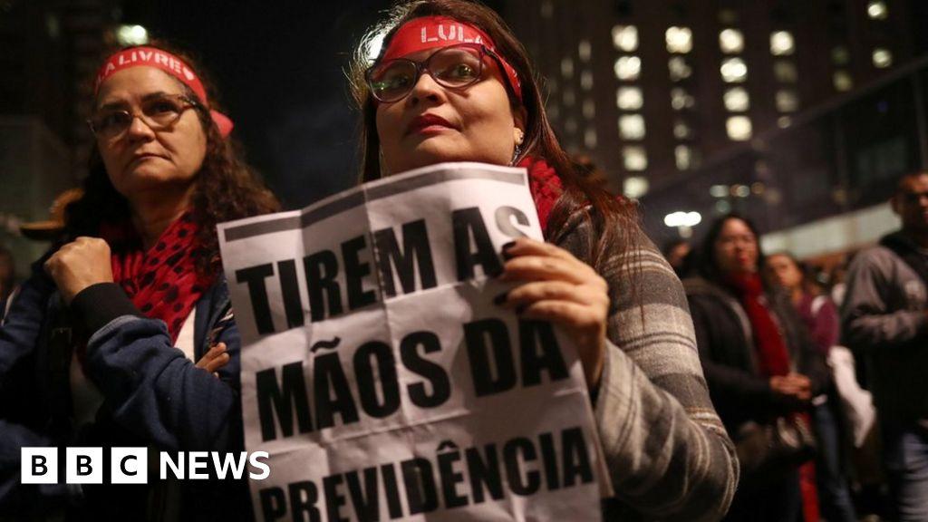 Brazilian pension reform passes first hurdle