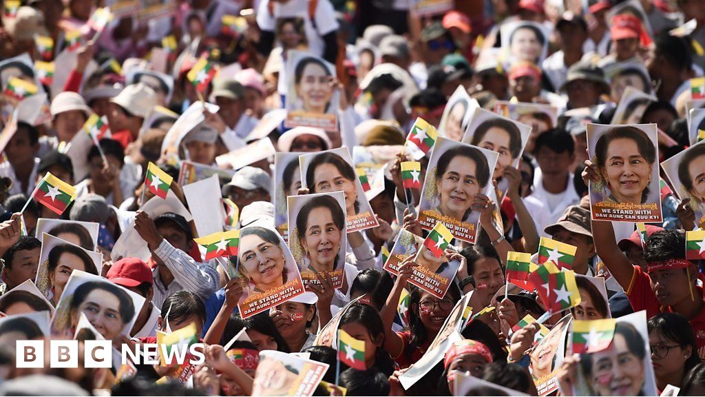 Myanmar Rohingya: The supporters of Aung San Suu Kyi