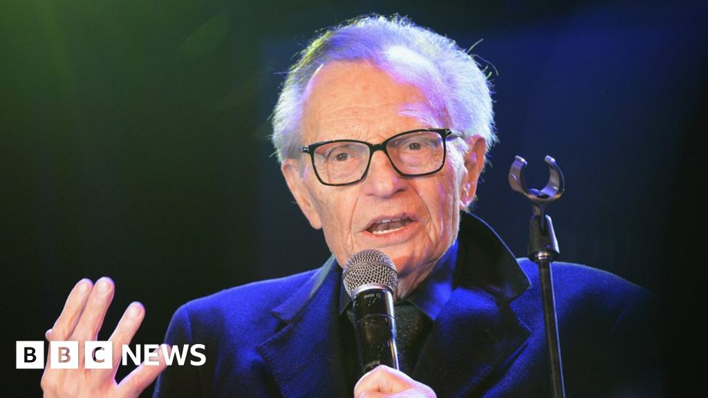 Veteran US broadcaster Larry King 'hospitalised with Covid'