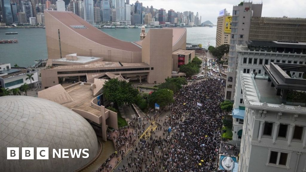 Hong Kong police find explosives ahead of protests