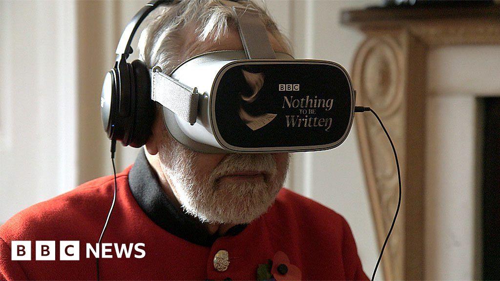 Chelsea Pensioners' verdict on WW1 VR experience
