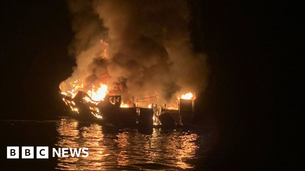 Conception boat fire: Captain charged over 34 deaths in California