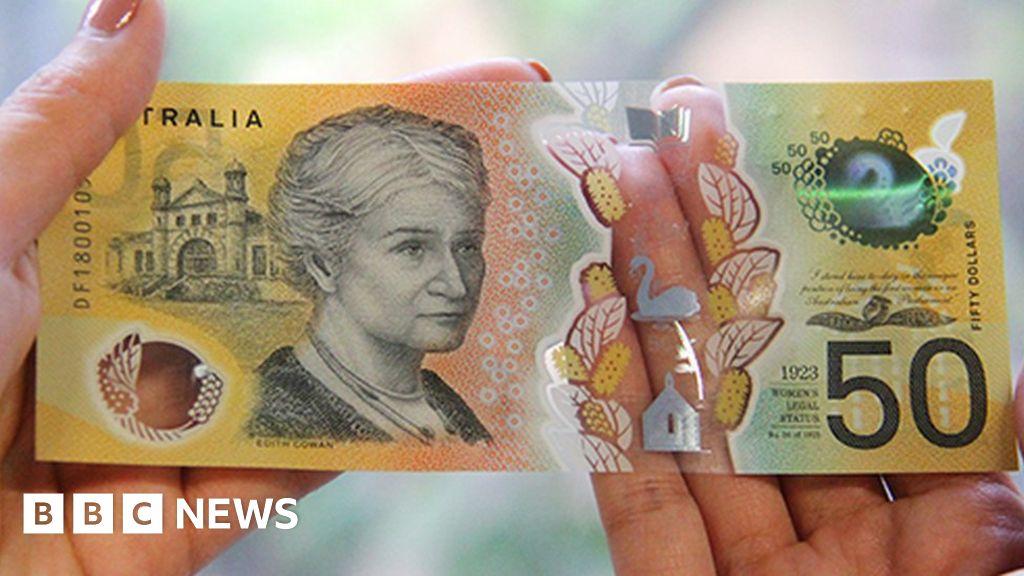 Typo on millions of Australian bank notes
