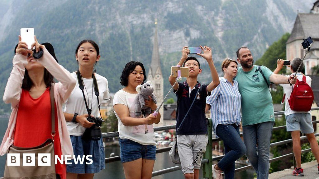 Hallstatt: A town of 800 people that gets a million tourists a year