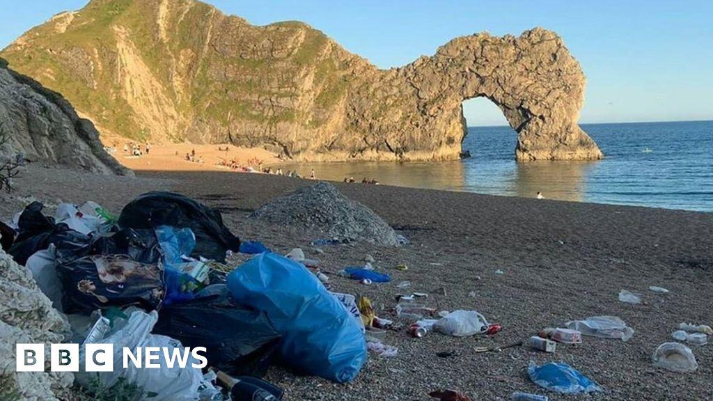 "Jurassic Coast beach crowds ""showed a shocking disregard for the area"