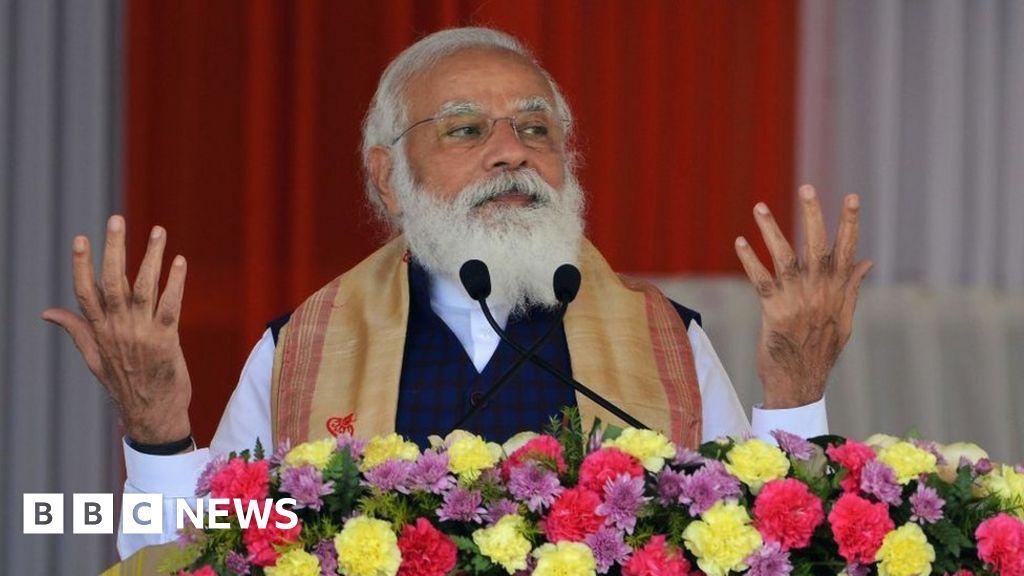 India's Covid crisis delivers a blow to brand Modi – BBC News