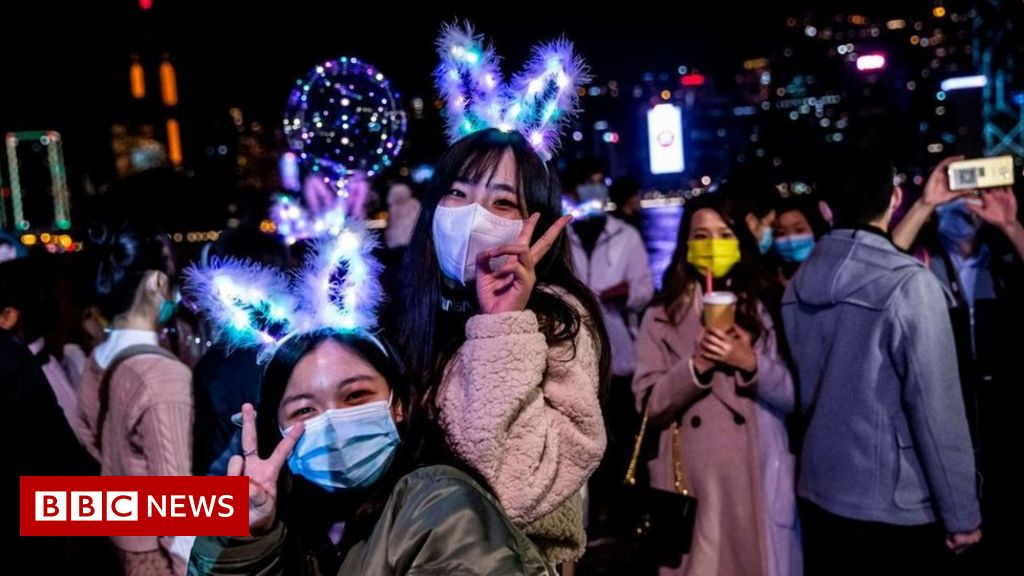 In photos: New Yr, however not fairly as we all know it