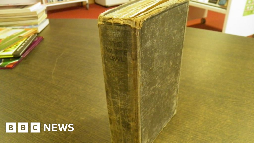 'Rare' library book returned after 80 years
