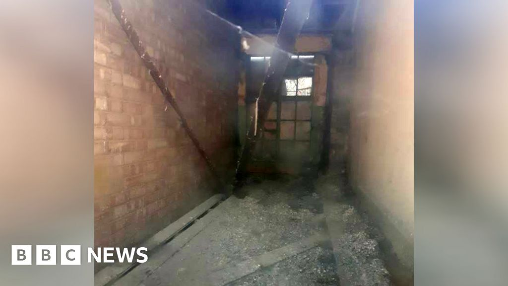 Bricked-up room and old toilets aid council budget