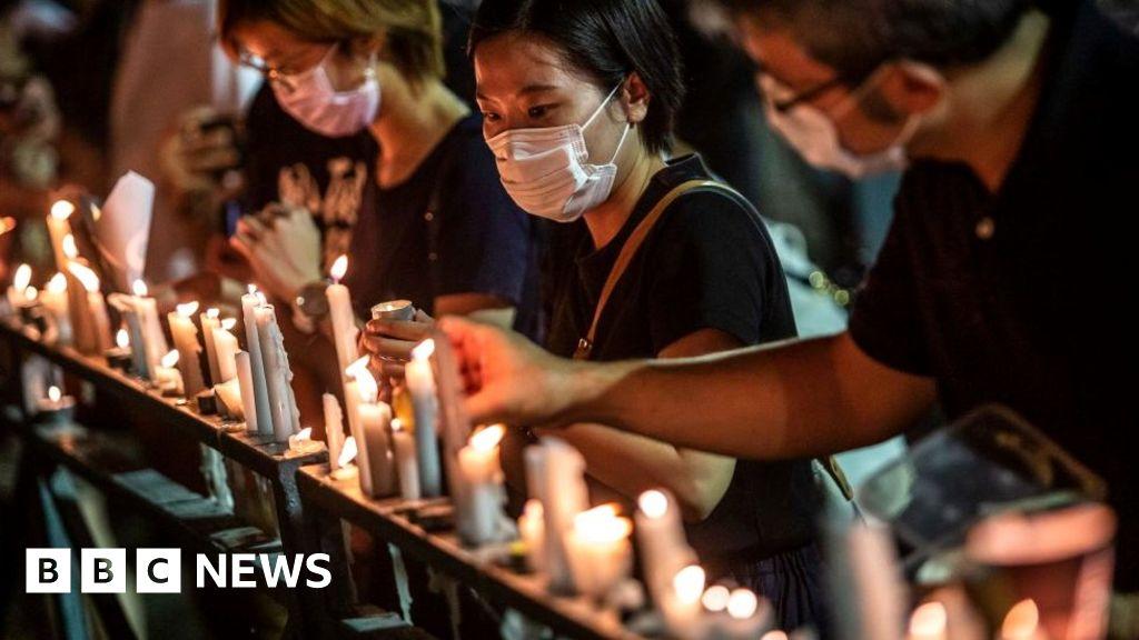 Hong Kong: Joshua Wong among 24 charged over Tiananmen vigil