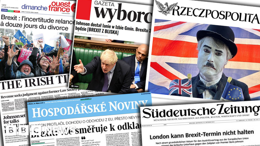 Brexit: Europe press sigh over  unbelievably dragging process