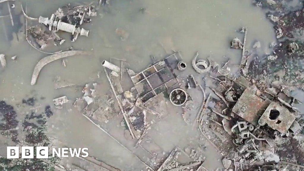 'Beauty' of island's shipwrecks graveyard captured
