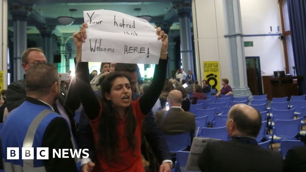 Protest News: Protesters Disrupt Pro-Brexit Glasgow Rally