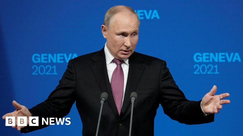 Putin praised Biden as the builder at the Geneva summit