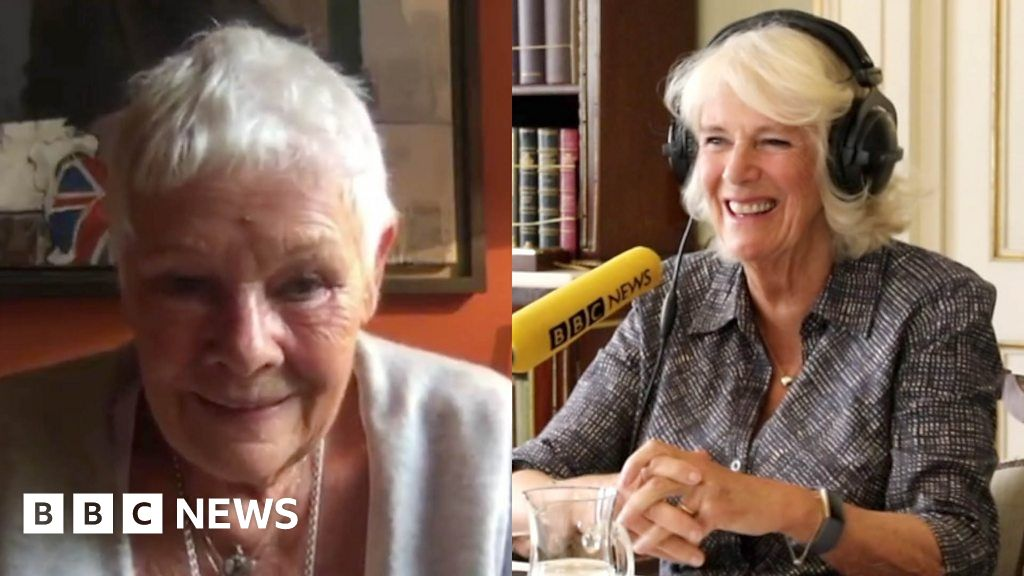 Camilla and Dame Judi on TikTok and learn new skills lockdown