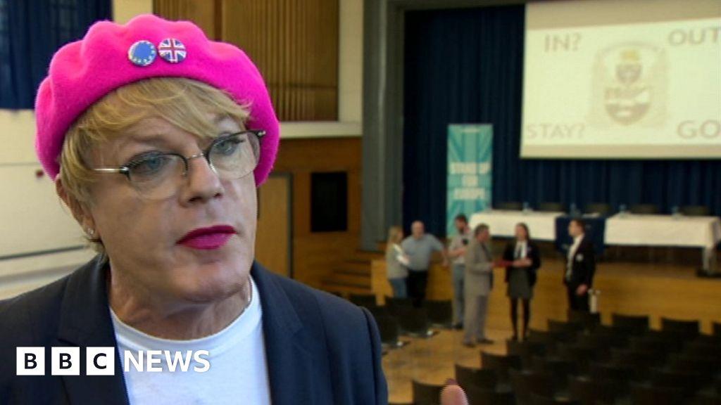 meet the izzards bbc news