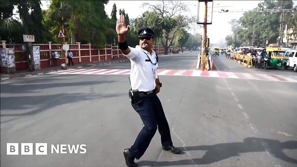 Pop and lock traffic cop