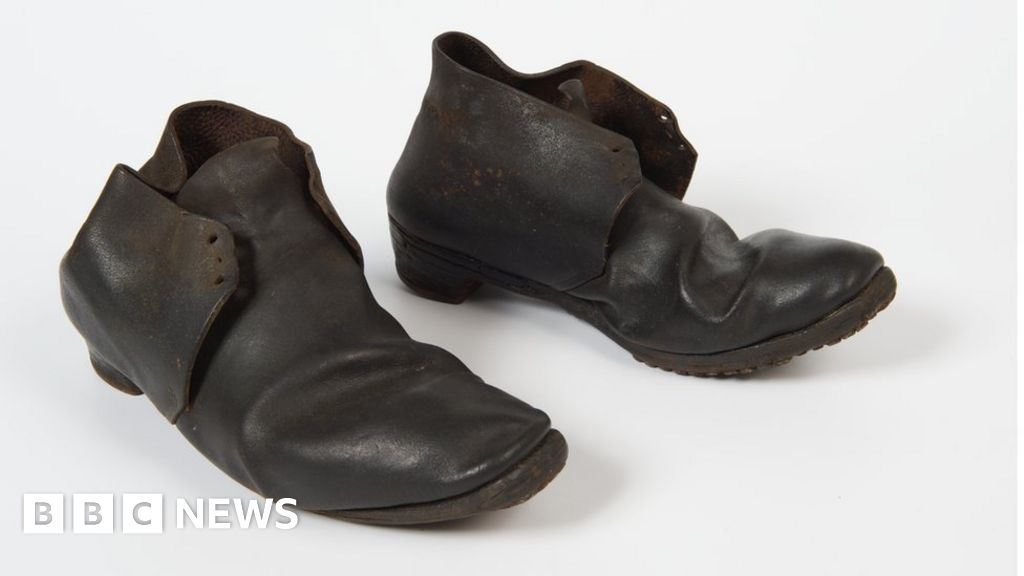 586bb5766a905 The shoes hidden in homes to ward off evil - BBC News