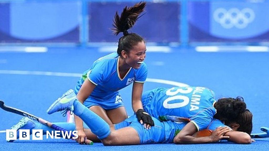 Tokyo Olympics: India rejoices at women's hockey team's semi-final spot