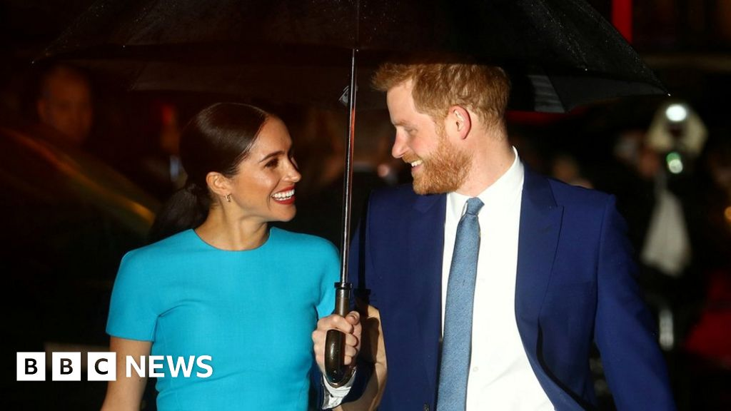 Meghan and Harry: Will stand up to the real couple, please?