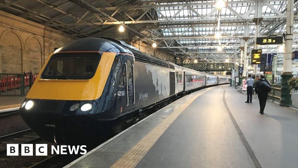 Upgraded InerCity train arrives at Haymarket