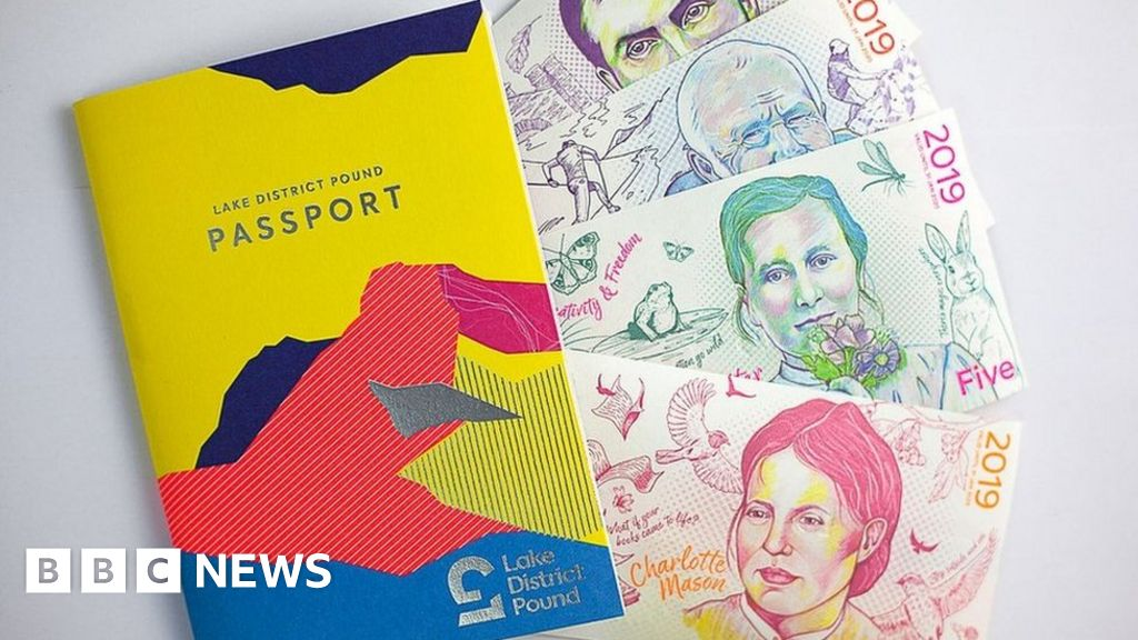 """A currency designed specifically for the Lake District is to fold, following an """"unprecedented rise"""" in the use of contactless payments. But"""
